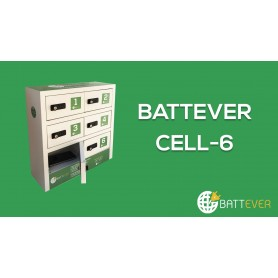 Battever  CELL- 6 Compartiments