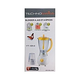 TECHNO-SWISS Blender a jus + Moulin a epices TechnoSwiss A1
