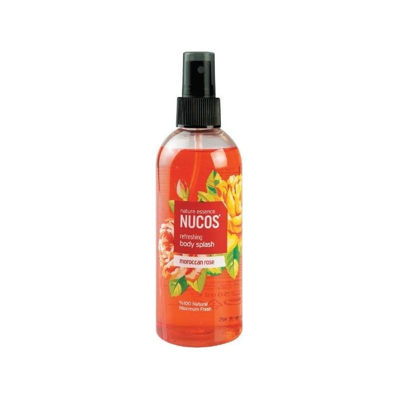 Nucos Body Splash Moroccan Rose 250ml