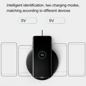 SAMSUNG S9 15W Double Coils Qi Wireless Stand Fast Charger For iPhone, Galaxy, Huawei, Xiaomi, LG, HTC