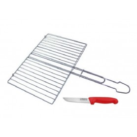 Grille viande plate rectangulaire GM